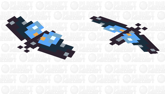 Pipevine Swallowtail Butterfly Minecraft Skin