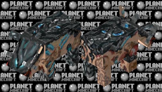 Reaper Zoglin Minecraft Skin