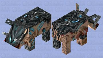 Reaper Zoglin Minecraft Mob Skin