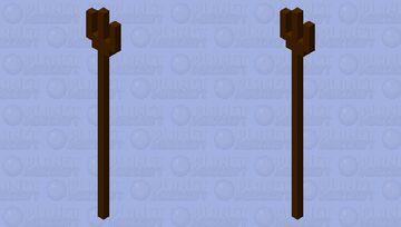pitch fork Minecraft Mob Skin
