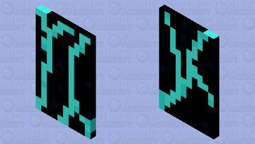 Lightning cap Minecraft Mob Skin
