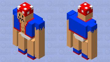 Buff Village Toad Minecraft Mob Skin