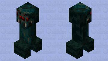 Cave Spider Creeper Minecraft Mob Skin