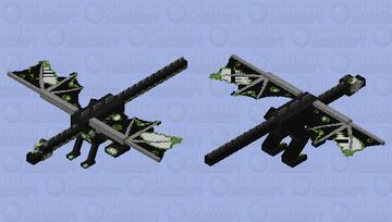 Zombie Ender Dragon Minecraft Mob Skin