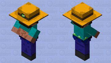 Refract Wandering Trader Minecraft Mob Skin