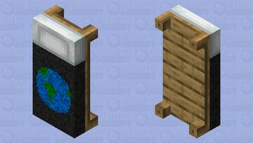 planet earth bed Minecraft Mob Skin
