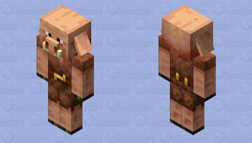piglin with eyes Minecraft Mob Skin