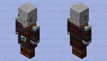 Pig Pillager Minecraft Mob Skin