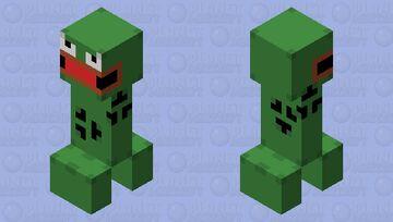 Pepe Creeper Minecraft Mob Skin