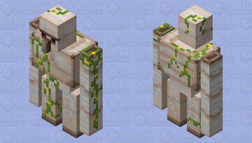 Improved Iron Golem Minecraft Mob Skin