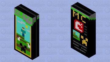 Minecraft X-Box Game DVD Minecraft Mob Skin