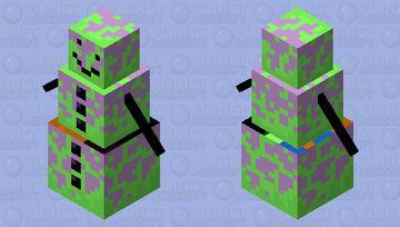 enchanted snowman Minecraft Mob Skin