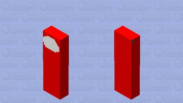 Actual Impostor (red) Minecraft Mob Skin