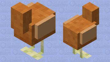 Long Mc the Chicken (@FishStacks SURPRISEEE) Minecraft Mob Skin