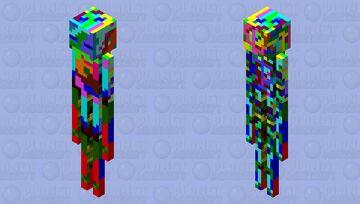 Hydro dipped enderman Minecraft Mob Skin