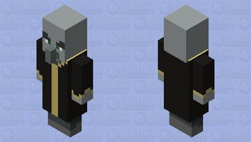simplified evokers Minecraft Mob Skin