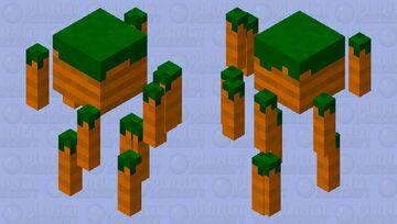 Carrot blaze Minecraft Mob Skin