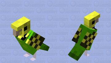 Parakeet Minecraft Mob Skin
