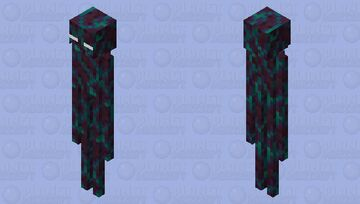 Warped Stem Enderman Minecraft Mob Skin