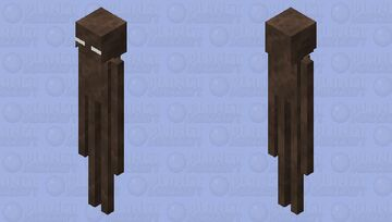 Soul Soil Enderman Minecraft Mob Skin