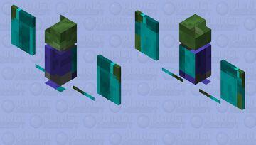 zombie bat (cursed) Minecraft Mob Skin
