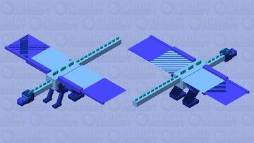 Water dargon Minecraft Mob Skin