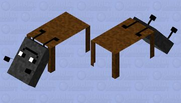 Mom look at what i can do Minecraft Mob Skin