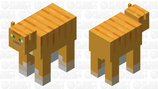 cowat (cow that's a cat) Minecraft Skin