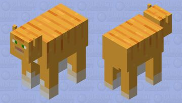 cowat (cow that's a cat) Minecraft Mob Skin