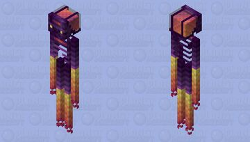 The End has passed & New beginnings are on the way || Endermen of the Future Minecraft Mob Skin