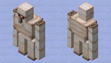 Clean Iron Golem Minecraft Mob Skin