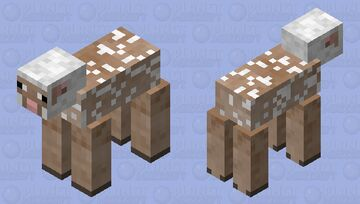 Naked Sheep Minecraft Mob Skin