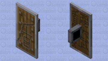盾 /dùn/ (Chinese emblazoned Shield) Minecraft Mob Skin