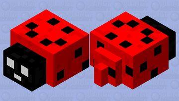 Lieveheersbeestje (ladybug) Minecraft Mob Skin