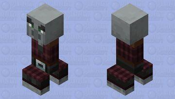 Pillager Creeper Minecraft Mob Skin