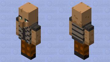 Villager guardian 2.0 Minecraft Mob Skin