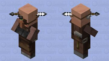 Impaled Weaponsmith Minecraft Mob Skin
