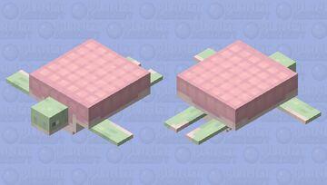 ♡ raspberry turtle ♡ Minecraft Mob Skin