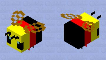 Germany bee Minecraft Mob Skin
