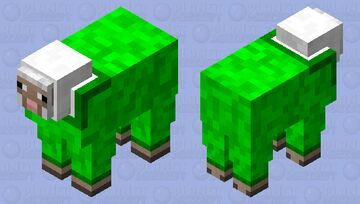 Sheep with a wool sweater Minecraft Mob Skin