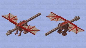 Mythological Blood Dragon - Mythological Creatures Mob Skin Contest Minecraft Mob Skin