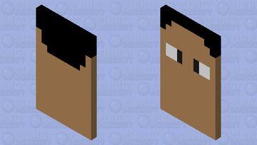 Steve cape Minecraft Mob Skin