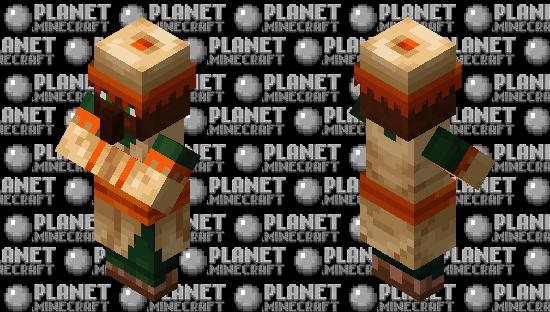 desert villager retexture Minecraft Skin