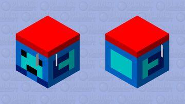 blue's oc(SKIN FIGHT) Minecraft Mob Skin