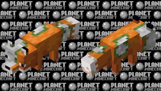 Zombified Fox Minecraft Skin