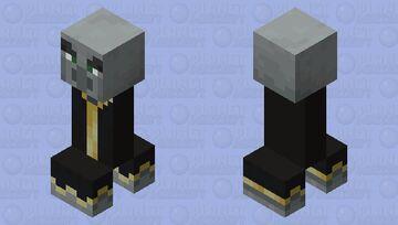 Evoker Creeper Minecraft Mob Skin