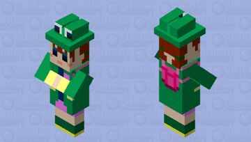 Rana, but 10 times more terrifying and a witch. Minecraft Mob Skin
