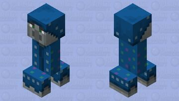 Illusioner Creeper Minecraft Mob Skin