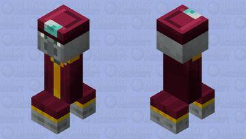 Enchanter Creeper Minecraft Mob Skin