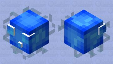 Electric Cube Minecraft Mob Skin